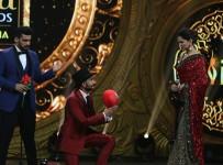 Arjun Kapoor, Ranveer Singh and Deepika Padukone 2