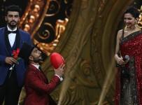 Arjun Kapoor, Ranveer Singh and Deepika Padukone